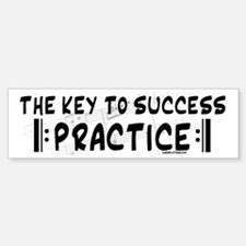 Key to Success Bumper Bumper Bumper Sticker