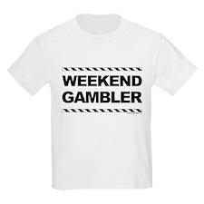 Weekend Gambler Kids T-Shirt