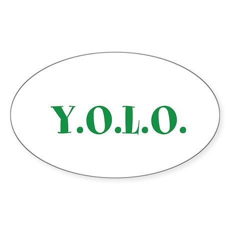 YOLO Sticker (Oval 10 pk)