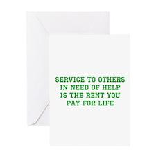Service Merchandise Greeting Card