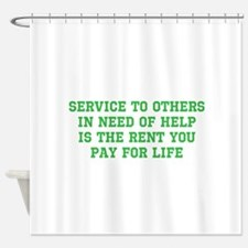 Service Merchandise Shower Curtain