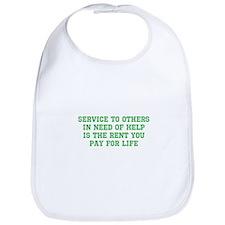 Service Merchandise Bib