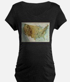 Vintage United States Physical F Maternity T-Shirt