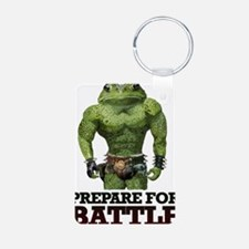 PREPARE FOR BATTLE says TOAD Keychains