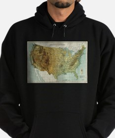 Vintage United States Physical Features Sweatshirt