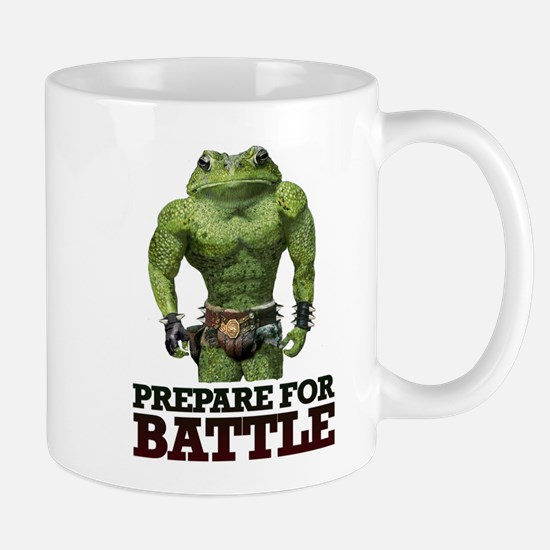 PREPARE FOR BATTLE says TOAD Mug