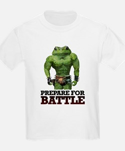 PREPARE FOR BATTLE says TOAD T-Shirt