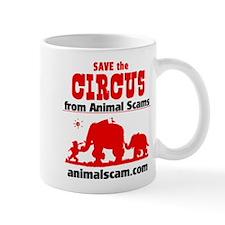 Save the Circus from Animal Scams Mug