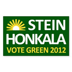 Stein-Honkala 2012 Campaign Bumper Decal