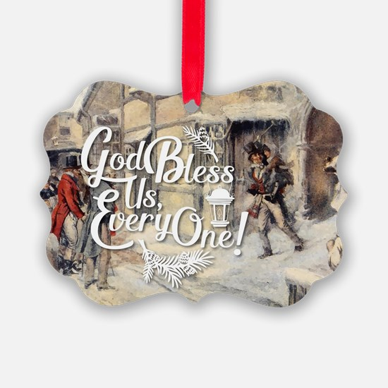 God Bless Us Every One! Ornament