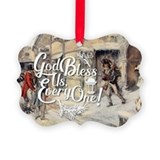 A christmas carol Picture Frame Ornaments