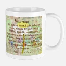 Nurse Prayer Blanket Size Yellow.PNG Mug