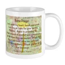 Nurse Prayer Blanket Size Yellow.PNG Mug