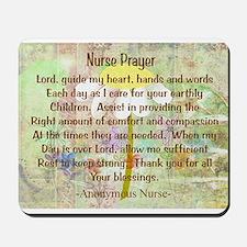 Nurse Prayer Blanket Size Yellow.PNG Mousepad