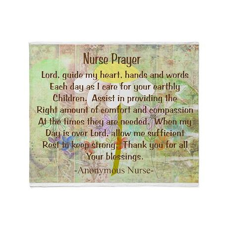Nurse Prayer Blanket Size Yellow.PNG Stadium Blan