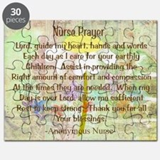 Nurse Prayer Blanket Size Yellow.PNG Puzzle