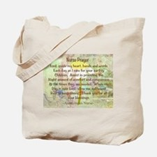 Nurse Prayer Blanket Size Yellow.PNG Tote Bag