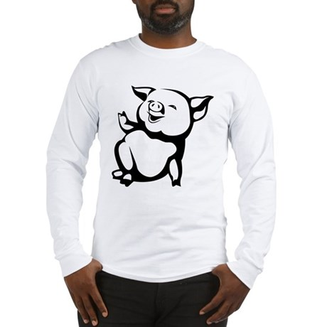 Pig Long Sleeve T-Shirt