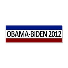Obama-Biden 2012 RWB Car Magnet 10 x 3