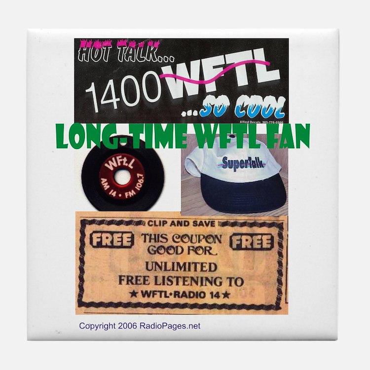 Long-Time WFTL Fan Tile Coaster