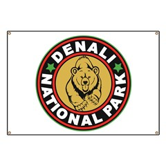 Denali Black Circle Banner