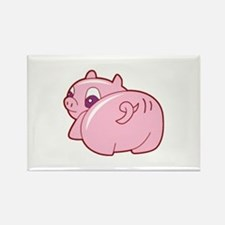 Pig Rectangle Magnet