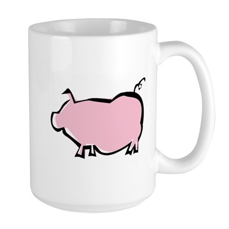 Pig Large Mug