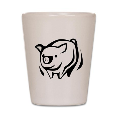 Pig Shot Glass