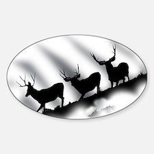 mule deer Decal
