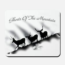 Mule deer Ghosts Mousepad