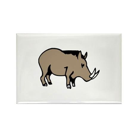 Pig Rectangle Magnet (100 pack)