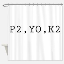 p2yok2.png Shower Curtain