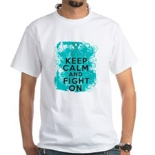 PCOS Keep Calm Fight On Shirt