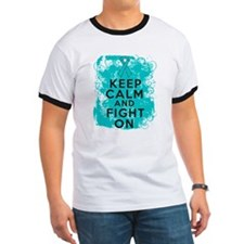 PCOS Keep Calm Fight On T