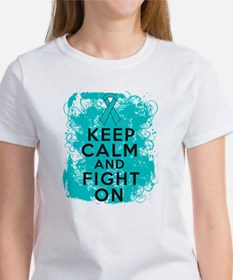 PKD Keep Calm Fight On Tee