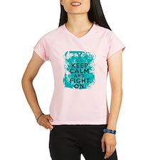 PKD Keep Calm Fight On Performance Dry T-Shirt