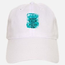 PKD Keep Calm Fight On Baseball Baseball Cap