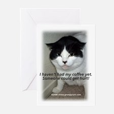 Grumpy Cats 2 Greeting Cards (Pk of 10)