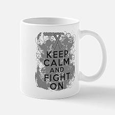Parkinsons Disease Keep Calm Fight On Mug