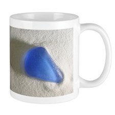 Blue Sea Glass Mug