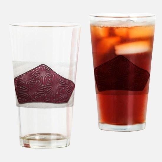 Purple Puerto Rican Sea Glass Drinking Glass