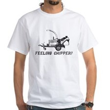 feeling chipper black T-Shirt