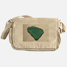 Aquamarine Sea Glass Messenger Bag