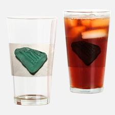 Aquamarine Sea Glass Drinking Glass
