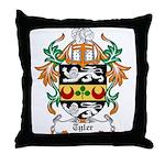 Tyler Coat of Arms Throw Pillow