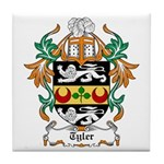 Tyler Coat of Arms Tile Coaster