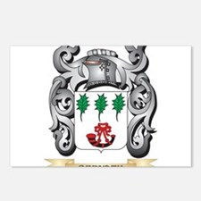 Bernath Family Crest - Be Postcards (Package of 8)