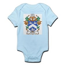 Tucker Coat of Arms Infant Creeper