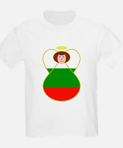 Bulgarian Flag Angel T-Shirt