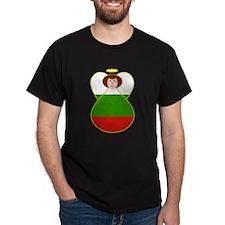 Bulgarian Flag Angel T-Shirt